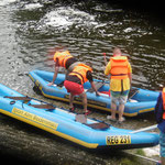 Rafting, Schlauchboot, Kanu, Schwarzer Regen, Bayerischer Wald, Rafting am Regen, Wildwasser