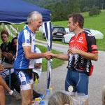 Siegerehrung Rainer Ackermann