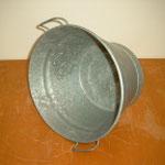 Spülschüssel   Aus den 50 er Jahren   Material: Blech verzinkt