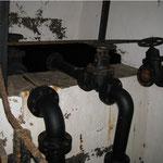 Wasserzuleitungsrohre im Hochbehälter I