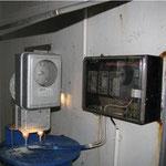 Wasserstandsmessung im Hochbehälter