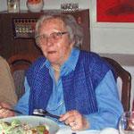 Eines der letzten Fotos von Maria, ca. 2006