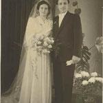 Edmund und Liesel Weschenmoser 1951