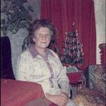 Emilie Hitscherich in ihren alten Tagen