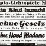 Werbung im Gemeindeanzeiger 1959