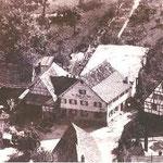 Luftbild Krone mit angebautem Festsaal