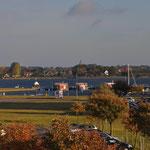 Ausblick zum Yachthafen