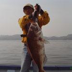 ★2009年6月15日 ★大村湾 裸島付近 ★85cm  7.5kg