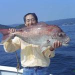 ★2009年9月1日 ★大村湾 裸島付近 ★85cm  8.5kg
