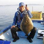 ★2010年5月21日 ★大村湾 裸島付近 ★77cm  5.4kg