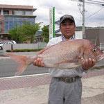 ★2008年6月4日 ★大村湾 裸島付近 ★85cm  7.4kg