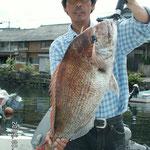 ★2009年8月9日 ★大村湾 裸島付近 ★80cm  8.0kg
