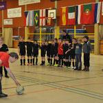 Eintracht F-Jugend beim Siebenmeter