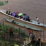 Schiffsanlegestelle, Luang Prabang