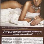 Entrevista a Chenoa - Revista HOLA Venezuela