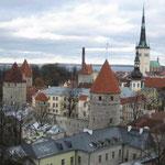 Die Sicht auf die Altstadt, von Toompea