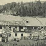 Hofstelle um 1960