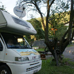 Der kleine Campingplatz