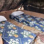 Betten in den Berberzelten