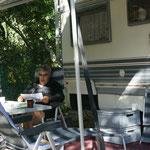 Der Lageplan des Camping's will gut studiert sein