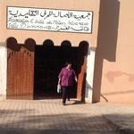 Noch schnell Datteln als Reiseproviant gekauft, beim Artisana Geschäft, wo wir auch die Berber gekauft haben.