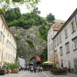Der Schlossbergplatz