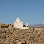 Ein schöner Marabut. Grabstätte eines Heiligen