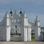 Die Kirche von Aglona von aussen...