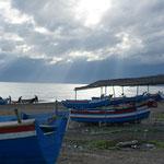 Fischer oder manchmal auch Fluchtboote