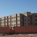 In und um Ouarzazate herrscht eine grosse Bautätigkeit