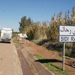 Wir haben Sidi Rahal gefunden