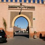 Tor zum Eingang in die Medina