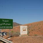 Ankunft in Sidi Ifni
