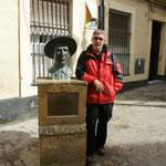 Alois mit Flamenco Kollege