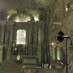 In der Kunigunde Kapelle. Alles ist aus Salz gehauen