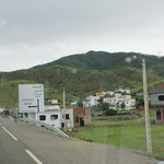 kleine Dörfer auf der Strecke