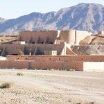 Eine Militäranlage der Legionäre in der Nähe von der Gorge du Ziz