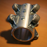Rollenschlitten für 50mm Kamerakopf