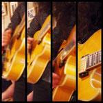 私のギター。