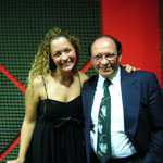 Con mi extraordinaria amiga Stéphanie Gérard