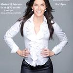 """La Lic. Marina Palmer Carrillo en Jazz Arquitectónico. Ella es Conductora del Programa de Televisión: """"Descanso Saludable"""" en el canal Vibra TV y autora de los libros: """"Como recuperar la salud del Alma"""" y """" Dormir, Soñar, Amar"""""""