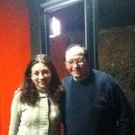 Con la Arq. Mtra.Cristina Cervantes Rangel