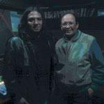 Con el Mtro. Eduardo Arana Segura en Jazz Arquitectónico y hablando de la Guitarra en el Jazz