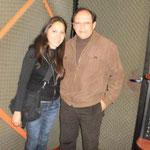 Con la Arq. Claudia Barriga G.