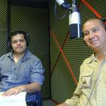 """Con Ulises Paniagua Olivares y Luis Alanís Tello, del Colectivo """"Pena Ajena"""""""