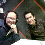 Con Mauricio Macías de la Sociedad de Alumnos de Arquitectura de la Universidad Anáhuac México Norte