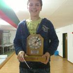 Marc Daepp, glücklicher Gewinner in der Kategorie kniehend aufgelegt