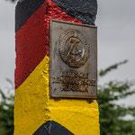 ehemaliger Grenzpfosten