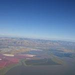 vor der Landung in SF
