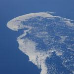 Hudson Bay mit Eis